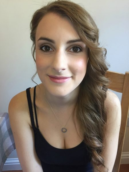 Bridesmaid hair and make up trial