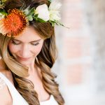 an autumn styled wedding shoot.