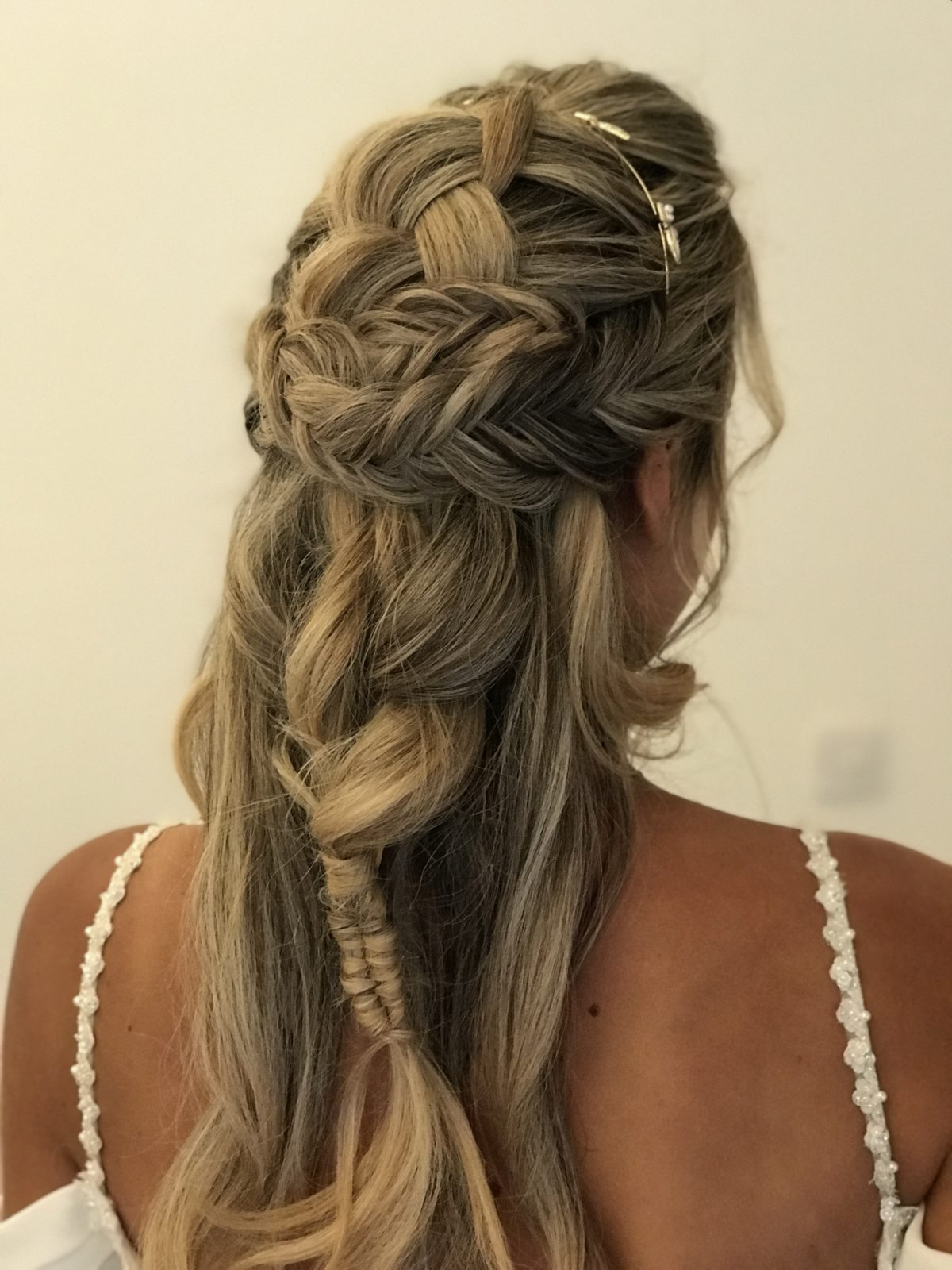 Beautiful Braided hair for our stunning Model