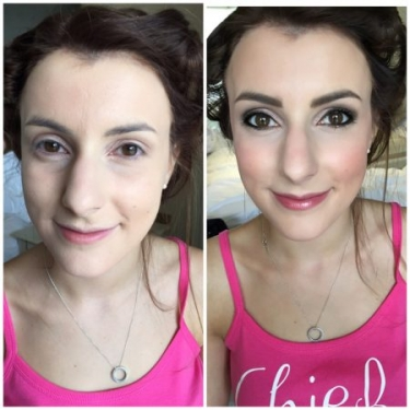 Bridesmaid Before & After